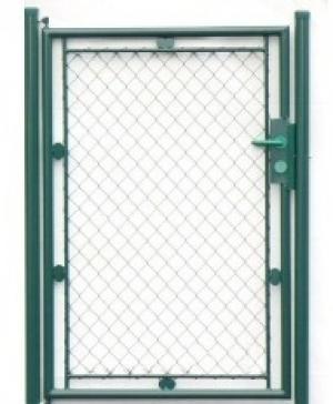 Jednokrídlová bránka Klasik zelená KLASIK| V: 100cm