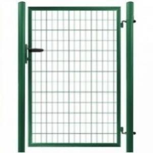 Jednokrídlová bránka SOLID zelená SOLID | V: 145cm