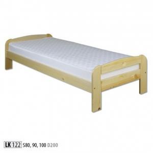Jednolôžková masívna posteľ LK 122 S90