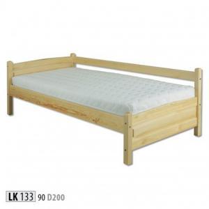 Jednolôžková masívna posteľ LK 133 S90