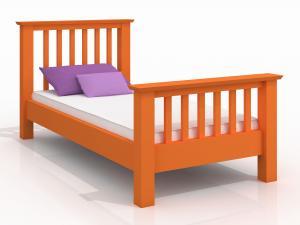 Jednolôžková posteľ 120 cm Naturlig Kids Leikanger (borovica) (s roštom)