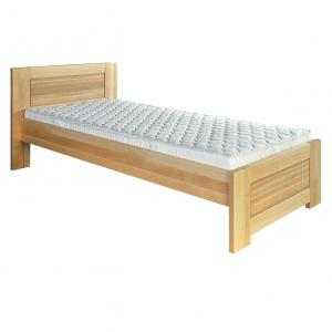 Jednolôžková posteľ 80 cm LK 161 (buk) (masív)