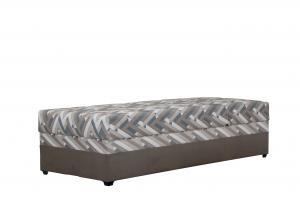Jednolôžková posteľ 90 cm - Blanár - Evelína (hnedá) (s roštom a matracom Alena). Akcia -21%. Sme autorizovaný predajca Blanár.