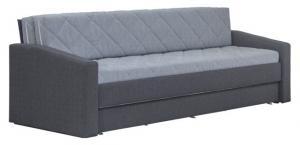 Jednolôžková posteľ 90 cm Blanár Vision (sivá) (s roštom a matracom Ivana)