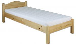 Jednolôžková posteľ 90 cm LK 124 (masív)