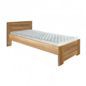 Jednolôžková posteľ 90 cm LK 261 (dub) (masív)