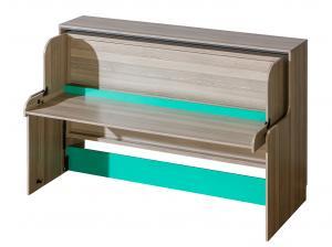 Jednolôžková posteľ 90 cm - Ulmo - U16 (s roštovou doskou). Akcia -32%