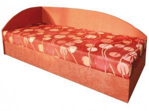 Jednolôžková posteľ (váľanda) 80 cm Marta (s molitanovým matracom) (L)