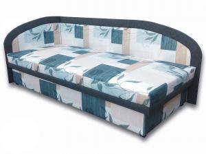 Jednolôžková posteľ (váľanda) 80 cm Melinda (Ramona 3A + Falcone 5) (L)