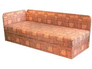 Jednolôžková posteľ (váľanda) 80 cm - Mitru - Edo 4/1 (s pružinovým matracom) (L). Sme autorizovaný predajca Mitru.