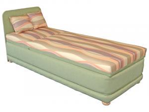 Jednolôžková posteľ (váľanda) 80 cm - Mitru - Ema 80 (s molitanovým matracom). Sme autorizovaný predajca Mitru.