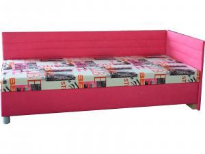 Jednolôžková posteľ (váľanda) 90 cm - Mitru - Etile 2 (so 7-zónovým matracom lux) (P). Sme autorizovaný predajca Mitru.