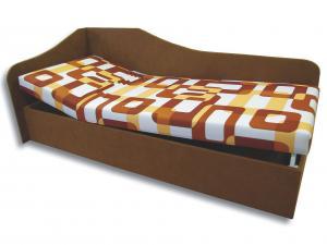 Jednolôžková posteľ (váľanda) 90 cm - Važo - Anita (Gusto 11 + Hnedá 13) (L). Sme autorizovaný predajca Važo.