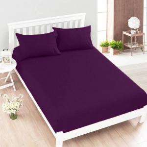 Jersey plachta fialová 140 x 200