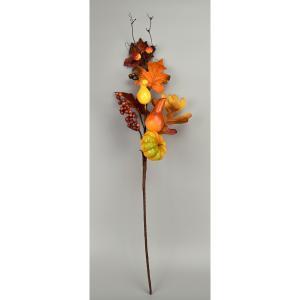 Jesenná dekoratívna vetvička Jesa, 50 cm