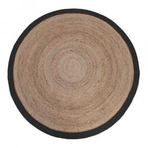 Koberec z konopného vlákna LABEL51 Hemp Rug,⌀ 180 cm