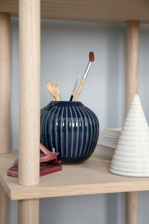 KÄHLER Keramická váza Hammershøi Indigo 12,5 cm