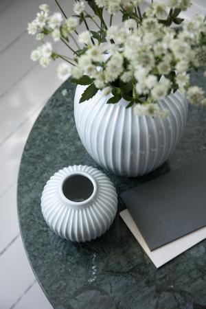 KÄHLER Keramická váza Hammershøi Mint 12,5 cm
