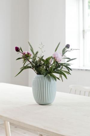 KÄHLER Keramická váza Hammershøi Mint 25 cm