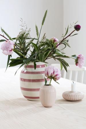 KÄHLER Keramická váza Hammershøi Rose 10,5 cm