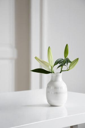 KÄHLER Keramická váza Omaggio Pearl 12,5 cm