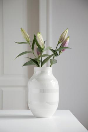 KÄHLER Keramická váza Omaggio Pearl 31 cm
