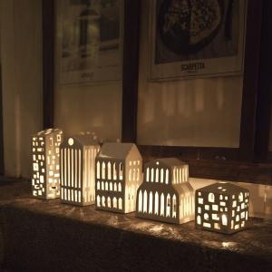 KÄHLER Lampáš domček Urbania Pantheon 20 cm