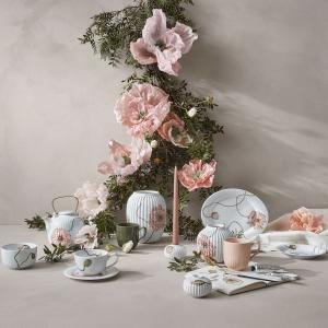 KÄHLER Porcelánová váza Hammershøi Poppy 20 cm