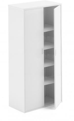 Kancelárska skriňa Modulus, 2000x800x400 mm, biela