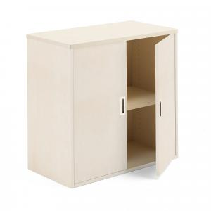 Kancelárska skriňa Modulus, 800x800x400 mm, breza