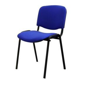 Kancelárska stolička ISO BLACK A-20 MODRA U