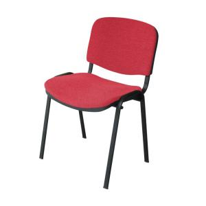 Kancelárska stolička ISO BLACK A-28 CERVENA U