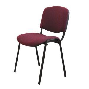 Kancelárska stolička ISO BLACK A-32 BORDO U