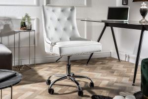 Kancelárska stolička Jett biela