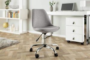Kancelárska stolička Sweden, svetlosivá