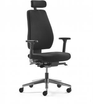 Kancelárska stolička WATFORD, čierna