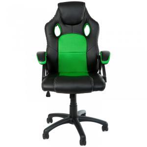 Kancelárska stolička - zeleno-čierna