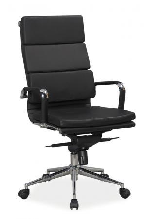 Kancelárske kreslo Q-153 (ekokoža čierna)