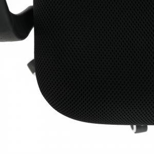 Kancelárske kreslo, sivá/čierna, ELMAS