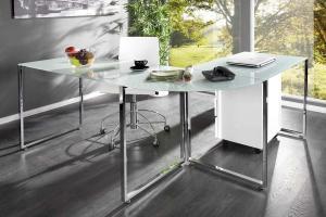 Kancelársky stôl Atelier biely