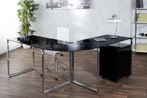 Kancelársky stôl Atelier čierny