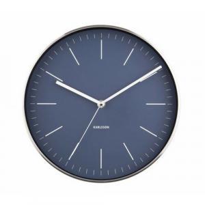 Karlsson 5732BL dizajnové nástenné hodiny, pr. 28 cm