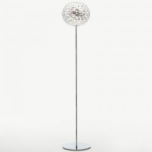 Kartell Kartell Planet stojaca LED 160cm krištáľová číra