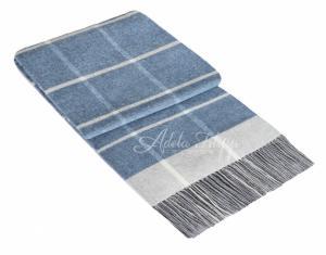 Kašmírová deka ANDORA Forever Blue   140x200 cm