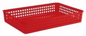 Keeeper Košíček plastový, červený