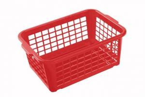 Keeeper Košík stohovateľný, plast, červený