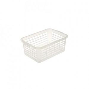 Keeeper Košík stohovateľný, plast, transparentný