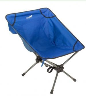 Kempingové kresielko - 65 x 56 x 60 cm, modré