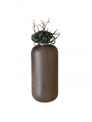 Keramická váza Urban, 36 cm, hnedá