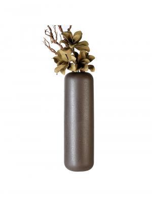 Keramická váza Urban, 56 cm, hnedá